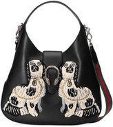 Gucci Dionysus embroidered large leather hobo