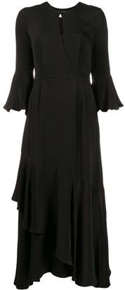 Erdem Ruffle Dress