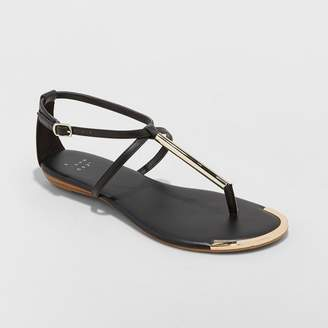 A New Day Women's Archer T Strap Thong Sandals