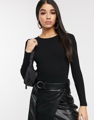 NA-KD open back body in black
