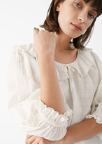 And other stories Frilled Puff Sleeve Top
