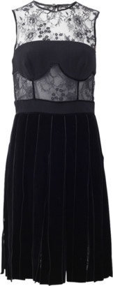 Oscar de la Renta Ribbon Skirt Dress