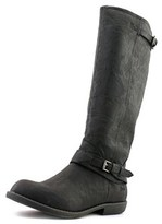 Blowfish Axis Women Round Toe Synthetic Black Knee High Boot.