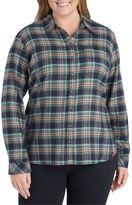 Dickies Plus Size Americana Flannel Shirt