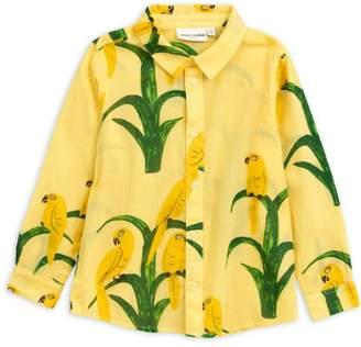 Mini Rodini Parrot Woven Shirt