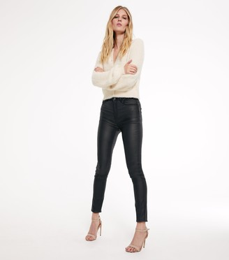New Look Tall Leather-Look 'Lift & Shape' Skinny Jeans