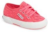 Superga Toddler Girl's Mesh Sneaker