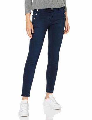 Taifun Women's 420037-11285 Straight Jeans