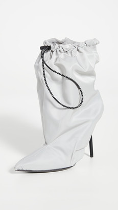 Unravel Project Drawstring Booties
