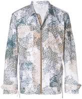 Les Benjamins printed shirt jacket