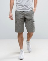 Esprit Cargo Shorts In Khaki