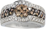 FINE JEWELRY Le Vian Grand Sample Sale 1 1/5 Ct. T.w. Champagne Diamond 14k White Gold Ring