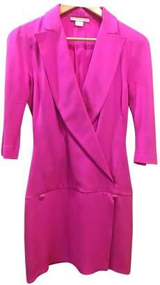 Antonio Berardi Pink Silk Dress for Women