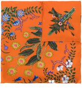 Gucci New Flora print scarf - women - Silk - One Size