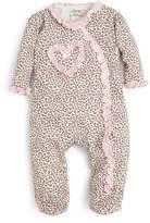 Little Me Girls' Leopard Print Footie