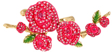 Betsey Johnson Pink Flower Ring