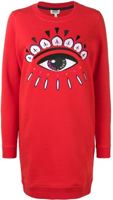 Kenzo Eye sweatshirt dress