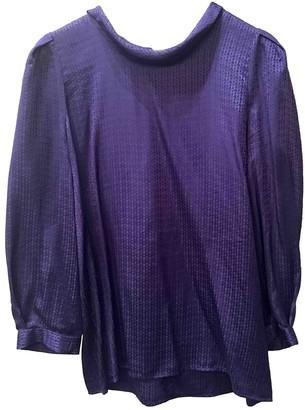 See by Chloe Purple Silk Top for Women