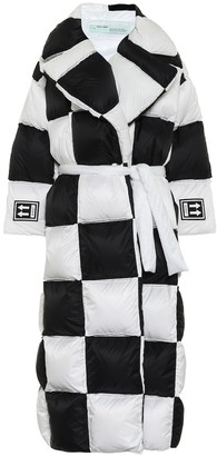 Off-White Off White Quilted down coat