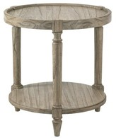 Lexington Twilight Bay Phoebe Tray Table Color: Distressed Textured Soft Taupe Gray