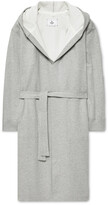Thumbnail for your product : Reigning Champ Melange Loopback Cotton-Jersey Hooded Robe