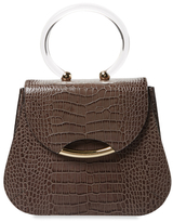 Charlotte Olympia Newman Embossed Leather Satchel