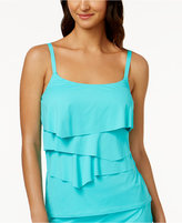 CoCo Reef Aura Bra-Sized Underwire Tiered Tankini Top