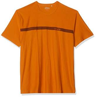 S'Oliver Big Size Men's 15.908.32.4496 T-Shirt,XXX-Large