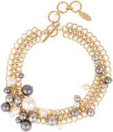 Lanvin Faux-pearl chain necklace