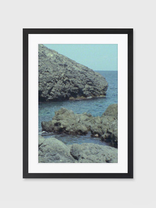 """For Your Guest Bathroom """"Riviera"""" Framed Print"""