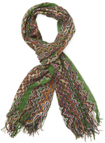 Missoni Long Fringe Scarf