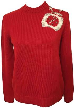 Miu Miu Red Wool Knitwear for Women