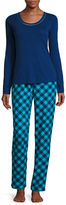 Liz Claiborne Flannel Pant Pajama Set