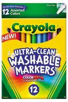 Crayola Ultra-Clean Markers Fine Line Washable 12ct Classic Colors