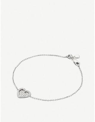 BUCHERER JEWELLERY Infinite Love 18ct white-gold diamond bracelet
