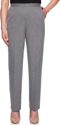 Alfred Dunner Women's Proportioned Straight-Leg Pants