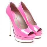 Versace Pink Patent leather Heels