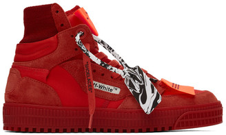 Off-White Red Off Court 3.0 High-Top Sneakers