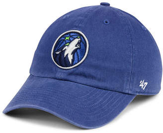 '47 Minnesota Timberwolves Clean Up Strapback Cap