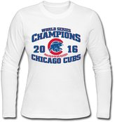 Sofia Women's Chicago Cubs World Series 2016 Champions T-shirt M