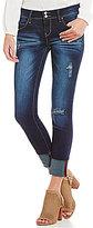 YMI Jeanswear WannaBettaButt Cuffed Ankle Skinny Jeans