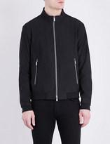 Armani Collezioni Woven harrington bomber jacket