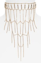Topshop Women's Ladder Collar Necklace