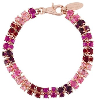 Vivienne Westwood Chunky Glass Crystals Necklace