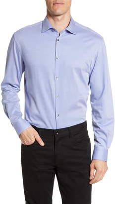 John Varvatos Trim Fit Stripe Dress Shirt