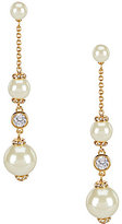 Kate Spade Pearls of Wisdom Linear Drop Earrings