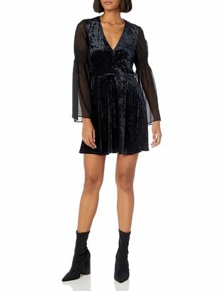 BCBGeneration Women's Velvet Mini Dress