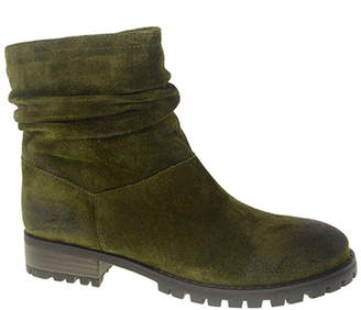 Chinese Laundry Women's Casual boots OLIVE - Olive Flip Suede Ankle Boot - Women