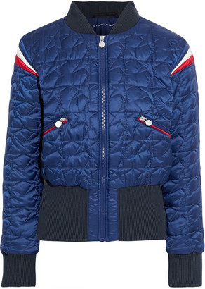 Perfect Moment Glacier Color-block Quilted Down Ski Jacket