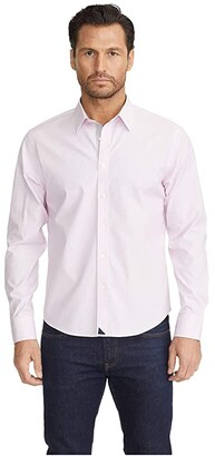 UNTUCKit Douro - Wrinkle Free (Pink) Men's Clothing